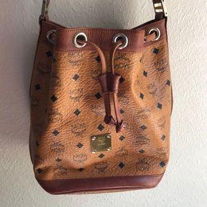 MCM gently used purse